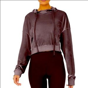 Alo Yoga Layer Long Sleeve Top / Raisin